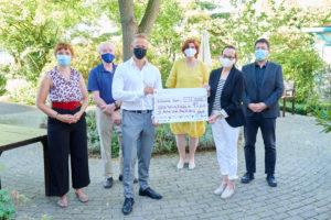 PR-Foto; Palliativmedizin, Spendenübergabe der Kreissparkasse Köln an