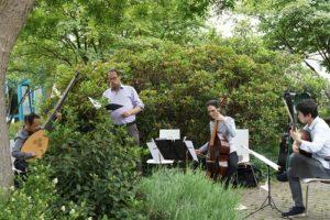 Erstes Sommerkonzert im Garten des Dr. Mildred Scheel Haus